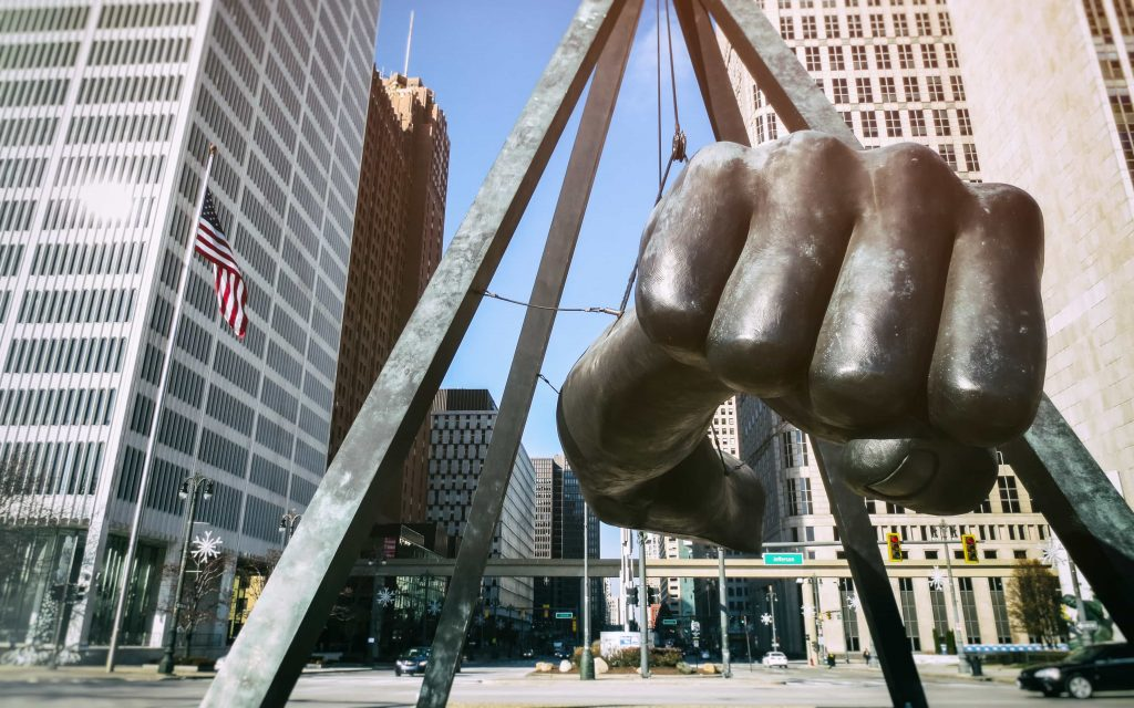 Function 4 Life Detroit Campus Martius WeWork location at 1001 Woodward, Suite 500